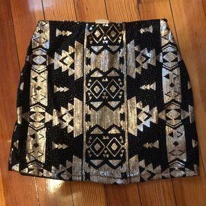 Sequin Mini Skirt!